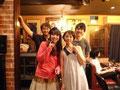 游琉踊楽と夏樹さんと櫻井さん