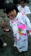 失礼して・・5歳の娘の写真