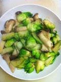 蕾菜 レシピ