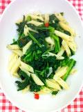 菜の花 ペペロンチーノ レシピ