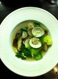 チンゲン菜 シイタケ レシピ