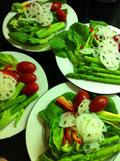 サラダ菜 レシピ サラダ