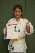 Sophia Eßer erkämpfte sich die Bronzemedaillie