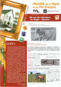 Catlaogue de l'exposition 60 ans de viticulture en Anjou-Saumur