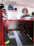 Fahrzeughalle Feuerwehr Hatzenbühl Renovierung
