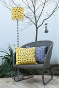Lampshade and cushions by Space 1a