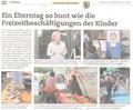 Kantonaler Elterntag 2013