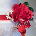 Rote Rose aus Blütenpaste
