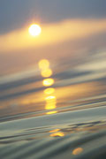 Sonne Wasser Meer Reflektion Spiegelung Licht