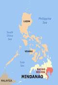 Map of Region XI