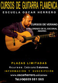 Cursos de verano de Guitarra Flamenca