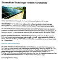 Dünnschicht-Technologie verliert Marktanteile (Stand: 20.8.2013)
