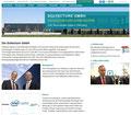 """Soltecture, Homepage """"Unternehmen"""", Juli 2013"""