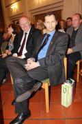 Die Herren Rittmann und Schlosser freuen sich (oder?) | Foto: I. Kars