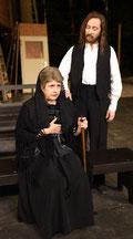 Signora Christina (Claudia Sieger) und Jesus (Holger Schlosser) | Foto: U. Pacher