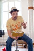Holger Schlosser liest fiese Krimis und Shortstories | Foto: augen[werk]