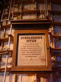 Schild Dumbledores Büro