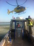 Aus der Donau wurde eine Leiche geborgen. Foto: FF Krems
