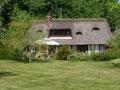 Le Gîte la Mare au Coq, charmante chaumière au pied du Marais Vernier en Normandie