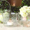 Kerzen, Windlichter, Wohnen, Dekoration, shabby chic, Landhausdekoration