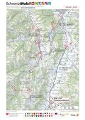 Streckenplan Gigathlon