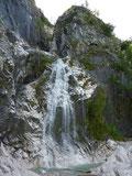 Wasserfall beim Miesweg, Traunsee