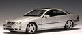 Mercedes-Benz CL55 AMG F1 Limited Edition   Autoart 70125 Silver metallic