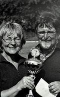 Geneviève und Helmut Heinz mit der Rats Trophy