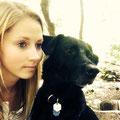 Anna Luise Dunz mit Buddy