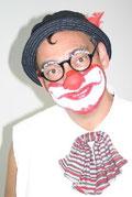 Viel Spass mit Clown Rote Feder