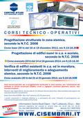 Corsi tecnico-operativi Progettazione in zona sismica NTC 2008