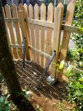 ガーデンの柵
