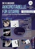 Die klingende Akkordtabelle für Akustik & E-Gitarre von Jörg Sieghart