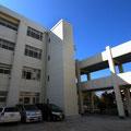 高丘中学校EV棟設置工事
