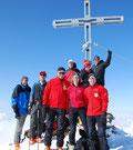 am Gipfel 3.606 m