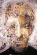 Retrato en ocres.   2000