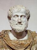 Busto in marmo di Aristotele