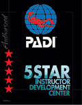 5 Star Instructor Development Centre, Dolphin Dive Fremantle (S8204)