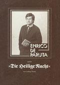 Heilige Nacht mit Enrico de Paruta, Erstes Programmheft anläßlich der Aufführung im Barbarasaal, Augsburg 1980