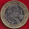 MONEDA AUSTRIA - KM 3142 - 1 EURO - 2.009 - CUPRONÍQUEL - LATÓN - BIMETÁLICA (MBC+/VF+) 2,25€.