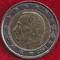 MONEDA BÉLGICA - KM 231 - 2 EUROS - 2.002 - CUPRONÍQUEL - LATÓN - BIMETÁLICA (BC/VG) 3,50€.