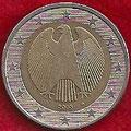 MONEDA ALEMANIA - KM 214 - 2 EUROS - 2.003 (G) CUPRONÍQUEL - LATÓN - BIMETÁLICA (MBC/VF) 3,50€.