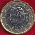 MONEDA BÉLGICA - KM 301 - 1 EURO - 2.009 - CUPRONÍQUEL - LATÓN - BIMETÁLICA (MBC-/VF-) 2,50€.