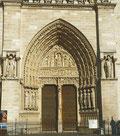 Le portail de Sainte-Anne