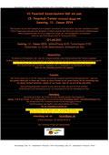 Anmeldung zum Feuerball-Turnier 2014