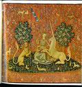 Die Dame mit dem Einhorn, um 1500