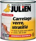 Sous-couche carrelage verre stratifié Julien