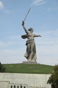 Mutter-Heimat Statue in Volgograd