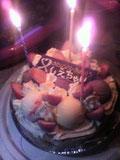 友達の誕生日アイスケーキ