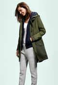 UNIQLO Women Military Coat
